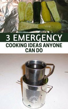 3 Emergency Cooking Ideas Anyone Can Do — I am always surprised at how cooking food takes a back seat when it comes to preparedness. Most people grab the emergency food but they do not consider how they are going to boil water and reheat some of those dehydrated meals. #emergency #prepping #preparedness #survival