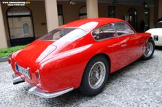 Maserati A6G. OK today there are two PODs. This is too good.