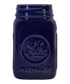 Loving this Midnight Blue Rooster Mason Jar on #zulily! #zulilyfinds