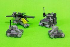 Team Up!   Flickr - Photo Sharing! All Lego, Lego Lego, Legos, Easy Lego Creations, Lego Soldiers, Toy Tanks, Lego Machines, Micro Lego, Lego Army