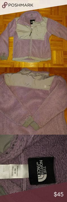 *sale* North Face Fleece lavender Northface fleece size XS ladies Lavender in color Small spot on one sleeve cuff North Face Jackets & Coats