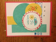 Love this card Stampin Up by Patti Rod