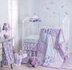 Happi by Dena™Olivia Collection, now in Babies R US stores! The Olivia Collection features lovely, hand-painted mix-and-match prints in shades of lavenders, aquas and delicate touches of pink.