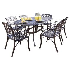 Found it at Joss & Main - 7-Piece Biscayne Patio Dining Set