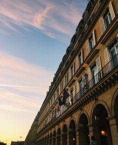 Le Meurice Hotel Paris Fachada | Facade Rue Rivoli