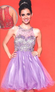 Prom Dresses Sweet 16 Dresses under $200<BR>724<BR>Jewel illusion neckline over sweetheart bodice embellished with bead work