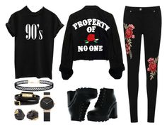 """Send me back"" by godofsadnessvodka ❤ liked on Polyvore featuring WearAll, Bamboo, LULUS, McQ by Alexander McQueen and Dara Ettinger"