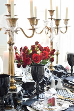 Dining room decorating ideas for Halloween