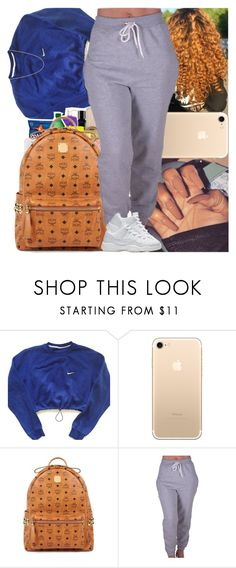 """""""Untitled #1071"""" by msixo ❤ liked on Polyvore featuring NIKE, MCM and CO"""