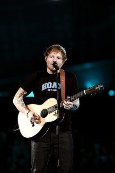 Performing at the BRIT awards