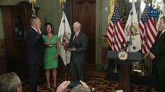Vice President Pence Participates in a Swearing-In