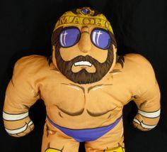Macho King WWF Wrestling Buddy Vintage Randy Savage Macho Man Tonka 1990 Buddies