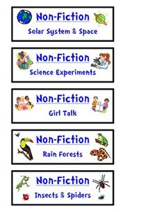 classroom library labels template classroom library genre labels