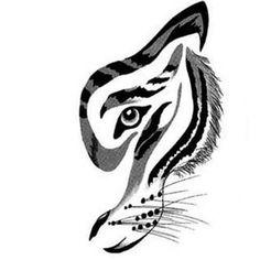 Resultado de imagem para tiger maori tattoo