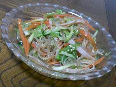 くららさん、作ったよ♪ メチャ旨ですd(*≧∀≦*) 暑い日には、バッチリ美味しいサラダです(゜∇^d)!!  素敵レシピありがとうございます(*´∀`)♪ - 118件のもぐもぐ - klalaさんのあっとゆーま中華春雨サラダ⭐ by sakachinmama