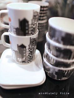 Lovely cups and saucers...