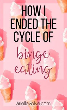 Binge eating was something that I struggled with, and I overcame it with the help of just one thing. Here is how I learned to stop binge eating. Binge Eating, Healthy Lifestyle Tips, Healthy Tips, Eating Quotes, Quotes About Eating Healthy, Cant Stop Eating, Stress, Intuitive Eating, Mindful Eating