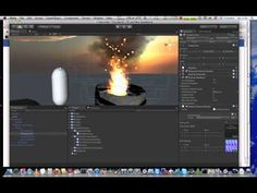Unity 3d - Heat Distortion Tutorial