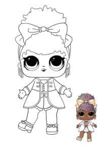 Supa Star Lol Dolls Coloring Pictures Free Coloring Pages