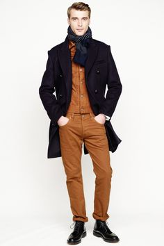 J.Crew Fall 2013 Menswear Collection Slideshow on Style.com