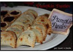 Harry Potter Pumpkin Pasties Recipe  Crust Ingredients: 2/3 c. &2 Tbsp butter 2 c. flour 1 tsp salt 4-6 Tbsp ice water  Directions : Cut sh...