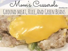 Southern Mom Loves: Day 4: Mom's Casserole {#12DaysOf Mother's Day}