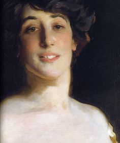 John Singer Sargent: Ena and Betty, Daughters of Asher and Mrs. Wertheimer (detail 1) | Flickr - Photo Sharing!
