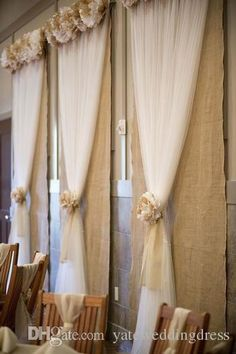 Tulle Wedding Decorations Chair Covers Sashes Backdrops Wedding Pew Decorations Arch Custom Made 150cm Width 100mters Long