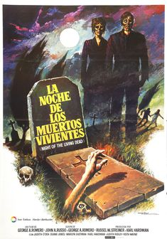 1968's Night of the Living Dead launched the career of director George Romero and reinvented the zombie mythos. It took a while to catch on but when it did? There was no stopping the film.