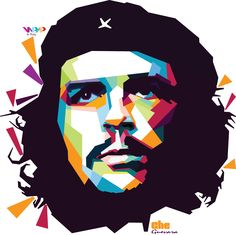 'Che Guevara' in wpap by. dicky falhkrurizal #wpap #art #design #artwork #cheguevara