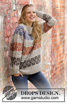 Ravelry: 197-1 Valdres pattern by DROPS design