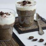 Coffee chia pudding