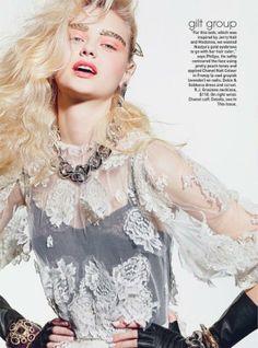 Nastya Kusakina | Teen Vogue December 2012