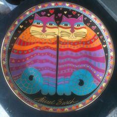 Friendly Felines Porcelain Plate
