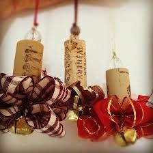 Wine Cork Christmas Ornaments