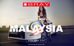 We are proud to announce the Bray's 2014 Winter World Tour Asia: hitting select cities in February and March. Team Bray will be on the road providing training, support and media coverage in Malaysia, Japan and Australia, the tour will be like no other, bringing together automobile enthusiasts from all over Asia and Australia. In true Bray fashion, expect plenty of updates and mind blowing media of some of Bray's hottest cars. Check back daily for updates! See more