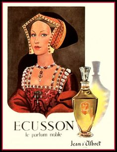 Perfume. Looks like Jane Seymour.
