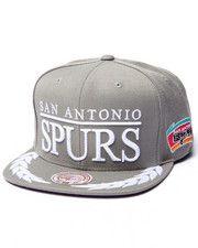 Hats - San Antonio Spurs NBA Laurel Snapback Hat