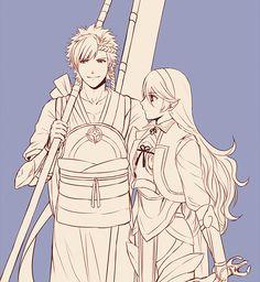 Fire Emblem: If/Fates - Shinonome and Kamui