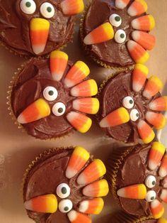 Thanksgiving kids dessert for children who don't like pie.