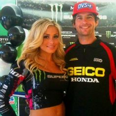 Miss Supercross... She is so pretty!