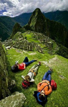 Machu Picchu, Perú, Muero por regresar y hacer el Camino Inca, hermoso paisaje.