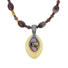 Carolyn Pollack Jewelry   Sun Kissed Pendant Necklace