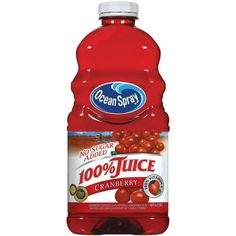 Cranberry juice is great for relieving girl cramps, great for urinary tract infections, cleansing your liver, and is rich in antioxidants. Plus, it's yummy! Go, cranberries!