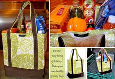 Tote bags come in all shapes and sizes and now you can make them all for free! 12 various tote bag patterns to bring everything you need wherever you go!
