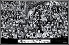 Rock & Roll Theatre Photo by Howard Teman at AllPosters.com