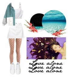 """""""alone in the middle of the ocean"""" by redboot ❤ liked on Polyvore featuring rag & bone, GRLFRND, GCDS and Jeffrey Campbell"""