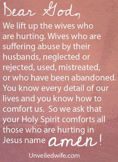 Prayer Of The Day – Hope For The Hurting by @Unveiled Wife