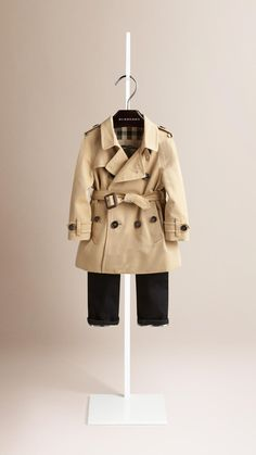 The Wiltshire - Heritage Trench Coat Honey | Burberry