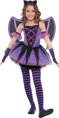 Girls Bat Ballerina Costume